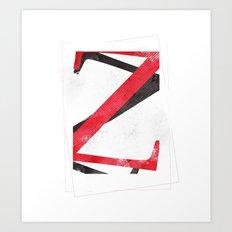 YEAR ONE Art Print