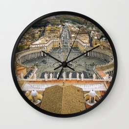 Piazza San Pietro, Vatican Wall Clock