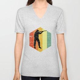 Hipster Huntsman T Shirt Unisex V-Neck