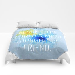 Thoughtful Friend Comforters