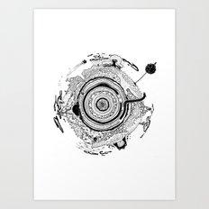 Little planet Art Print