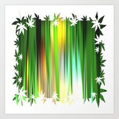 Gras.  Art Print