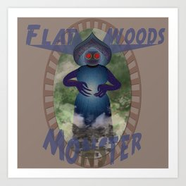 The Flatwoods Monster 1952 Art Print
