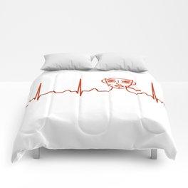 Plastic Surgeon Heartbeat Comforters