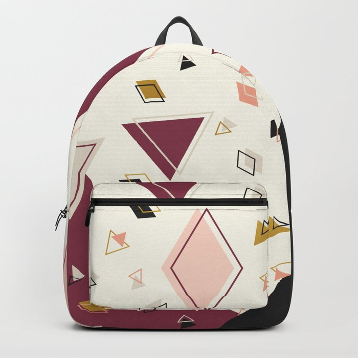 Rhombus Mix #society6 #decor #buyart Backpack