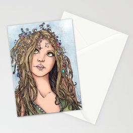 """Shaylee"" Spring Faerie Stationery Cards"