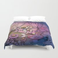 fairy tale Duvet Covers featuring Fairy Tale by Katie Badenhorst
