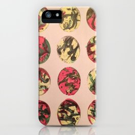 itchy series: no. 1 iPhone Case