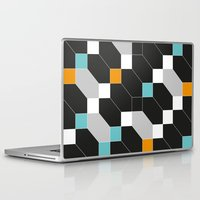 depeche mode Laptop & iPad Skins featuring Mode duex by blacknote