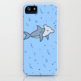 Little Hammerhead shark iPhone Case