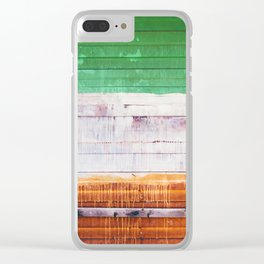 NYC Spray Paint (Color) Clear iPhone Case