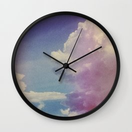 Dream of Clouds Wall Clock