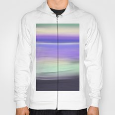 Early Morning Sea Abstract Seascape Hoody