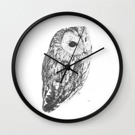 City Owl Wall Clock