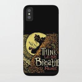 Lion's Breath iPhone Case