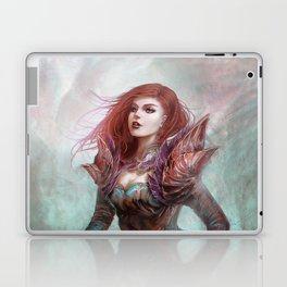 Diamond in the rough - Fantasy magic girl character concept Laptop & iPad Skin