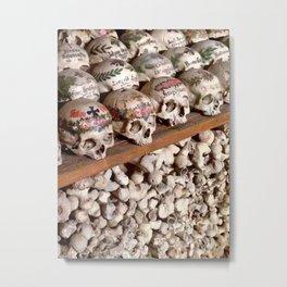"Hallstatt, Austria Beinhaus ""Bone House"" Metal Print"