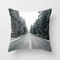 onward Throw Pillows featuring Onward by danotis