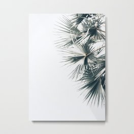 Right Palm Leaves Metal Print