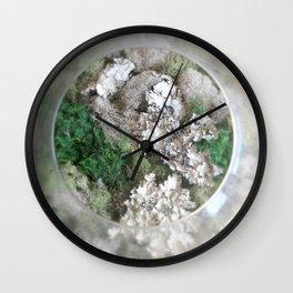 Moss View Circle Wall Clock