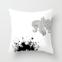 mlp Throw Pillows featuring MLP: nice shirt by turokevie