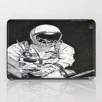 spaceman iPad Cases featuring Spaceman by Bri Jacobs