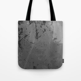 Decay Pattern, Grey/Silver Rust Tote Bag
