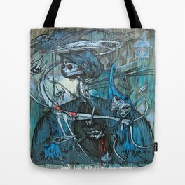 exiled archangels Tote Bag