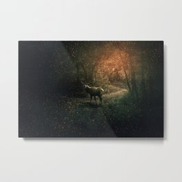 majestic forest guardian Metal Print