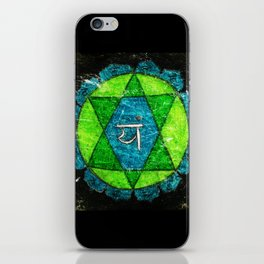 Anahata, Anahata-puri or padma-sundara iPhone Skin