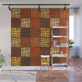 African pattern Wall Mural