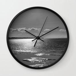 Berrow Beach Wall Clock