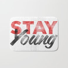 Stay Young Bath Mat
