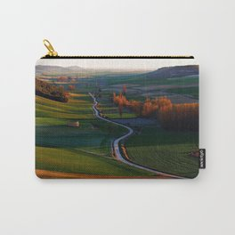 spain valladolid grass hills sky Carry-All Pouch
