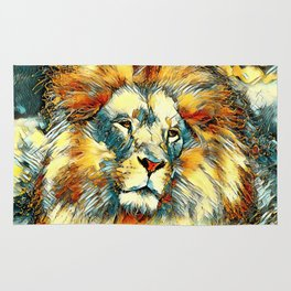 AnimalArt_Lion_20171005_by_JAMColorsSpecial Rug