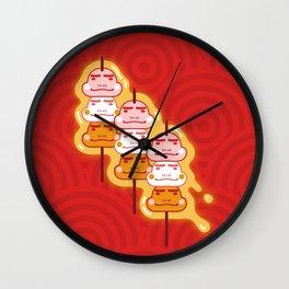 Boushoku's Dango Wall Clock