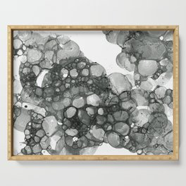 Ink Bubbles Serving Tray
