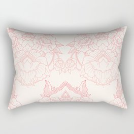 Mandala - Pink Rectangular Pillow