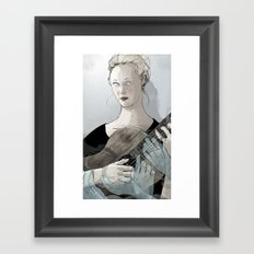 Laura Marling Framed Art Print