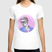 bowie T-shirts featuring Bowie  by Lucy Schmidt Art