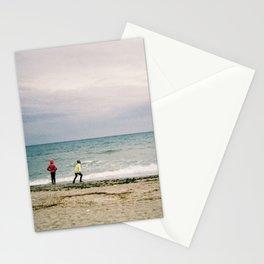 seaside. best side Stationery Cards