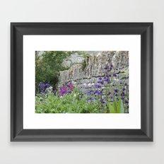 English Garden Framed Art Print