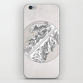 Mountains // Waves iPhone Skin