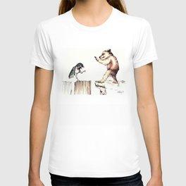 The Bird vs. The Bear T-shirt