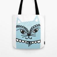 Katze #1 Tote Bag