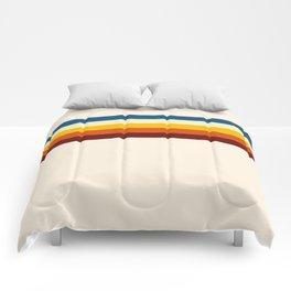 Never-ending Summer Time Retro Stripe Comforters