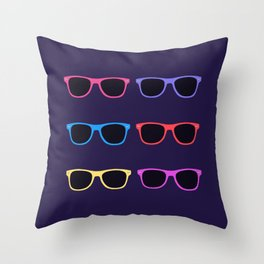 Vintage Sunglasses Throw Pillow
