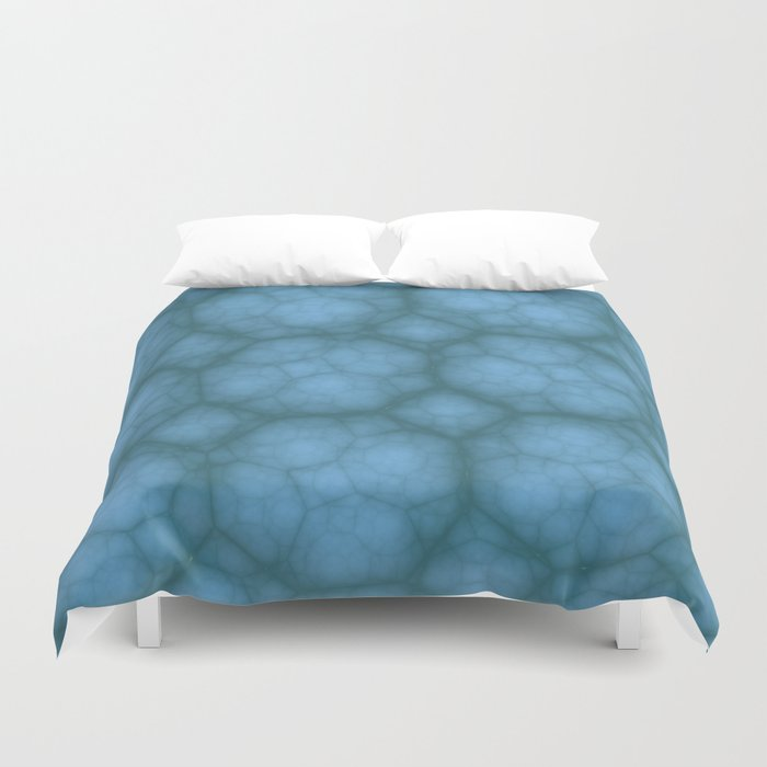 Octagons in MWY 01 Duvet Cover