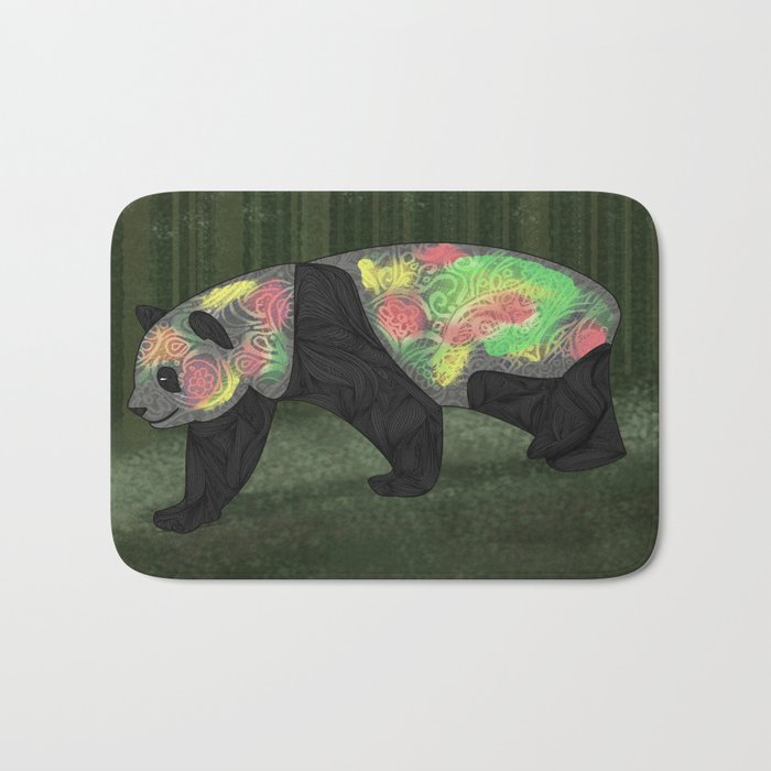 Panda Night Bath Mat