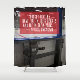 Hockey Passion Shower Curtain